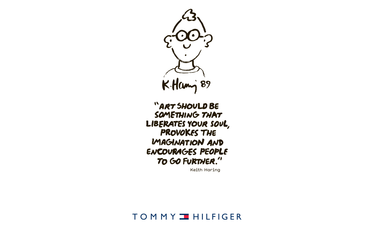 Tommy Hilfiger KeithHaring